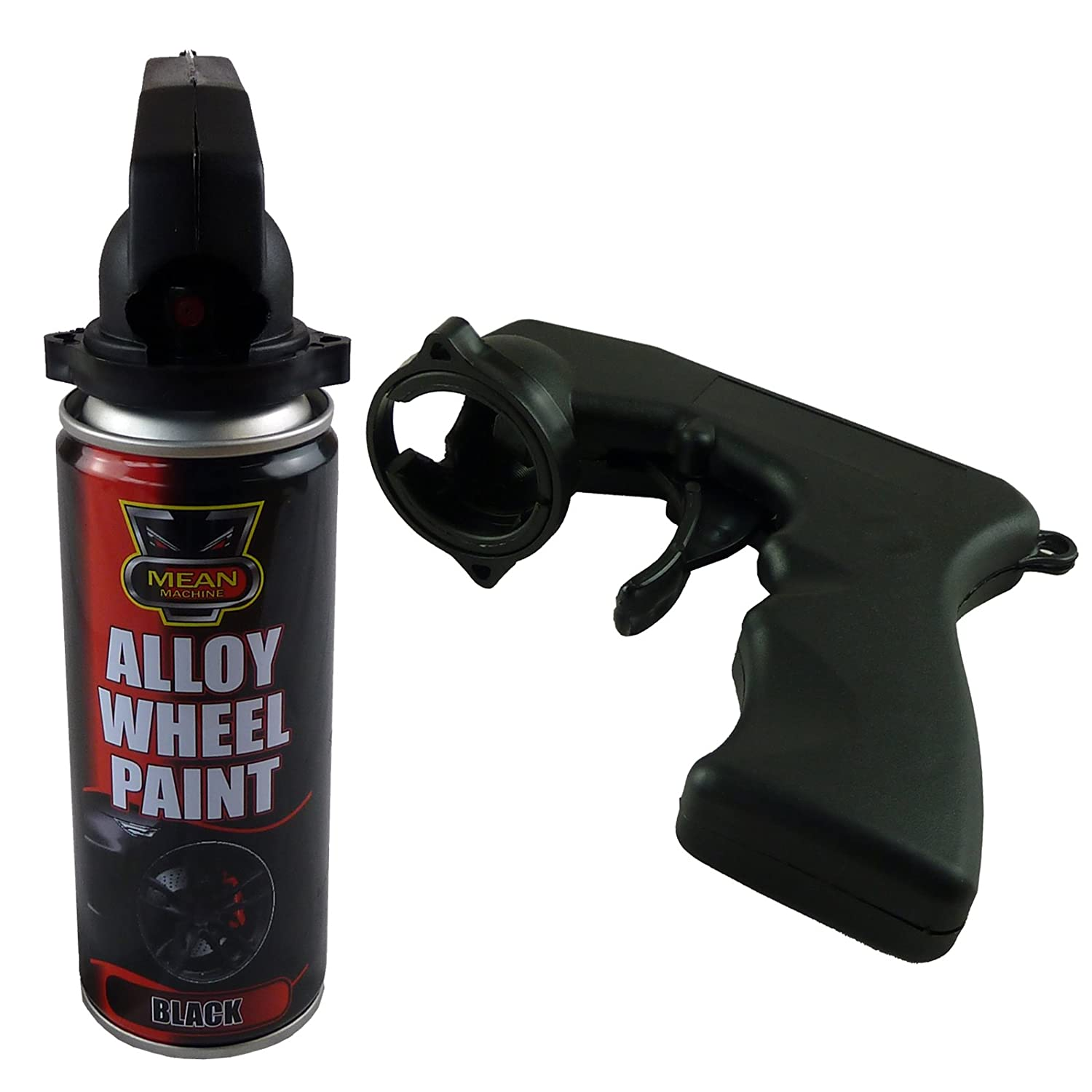 New aerosol spray paint applicator tin can trigger handle