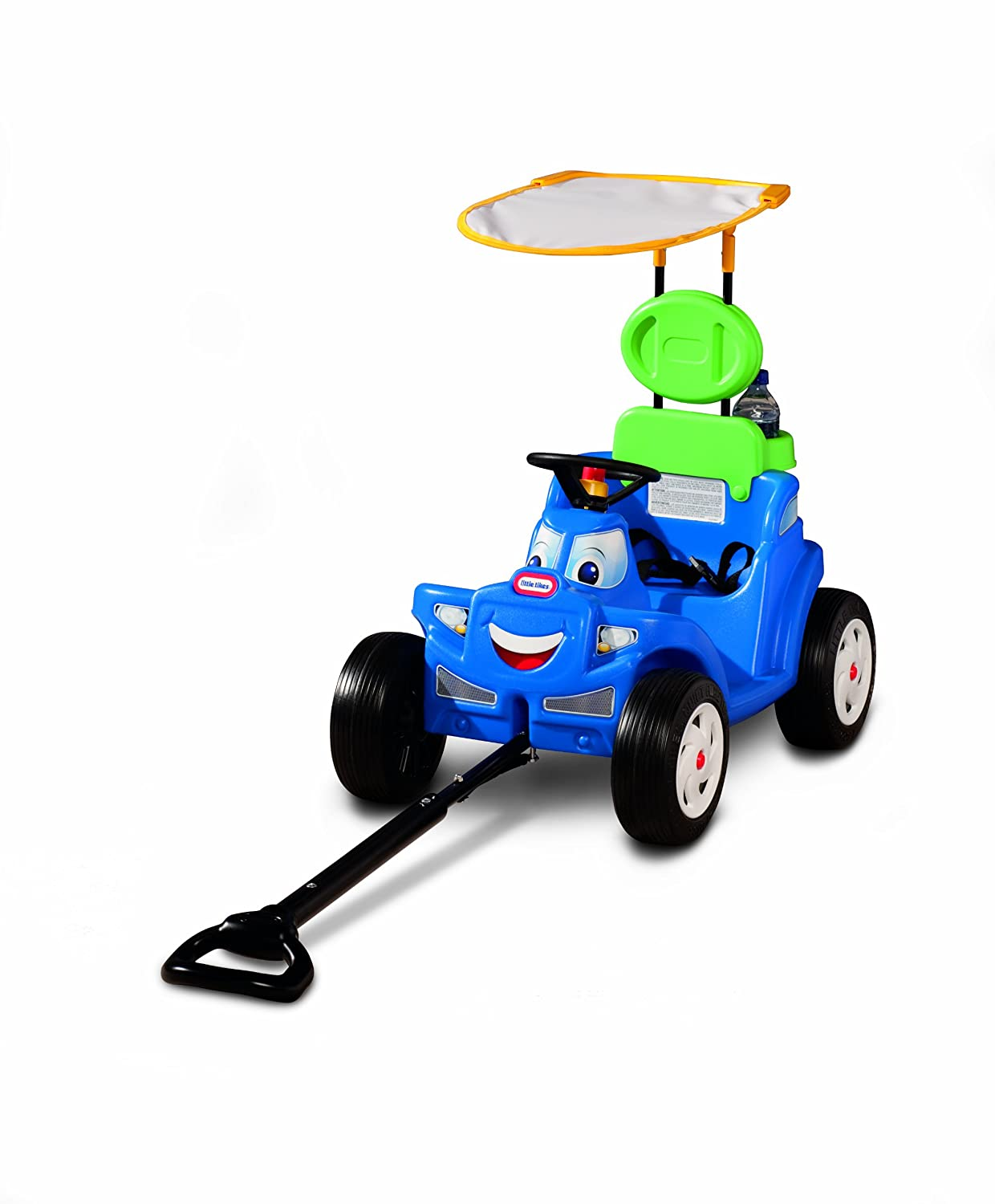 An Image of Little Tikes Deluxe 2-in-1 Cozy Roadster