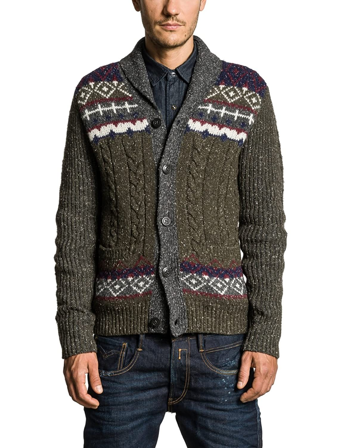 Replay Herren Strickjacke UK1040.000.G21422U