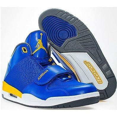Nike Air Jordan Flight Club 90\\u0026#39;s Sneaker Basketball Shoes blue .