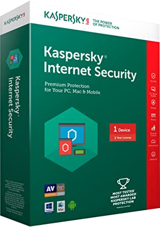 Kaspersky Internet Security - 1 PC, 1 Year (CD): Amazon.in: Software