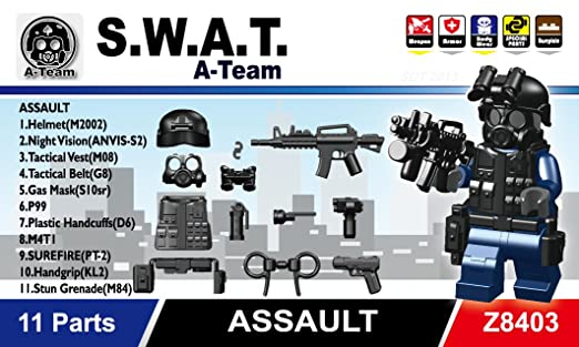 Swat Team Gear Swat Team Assault Minifigure