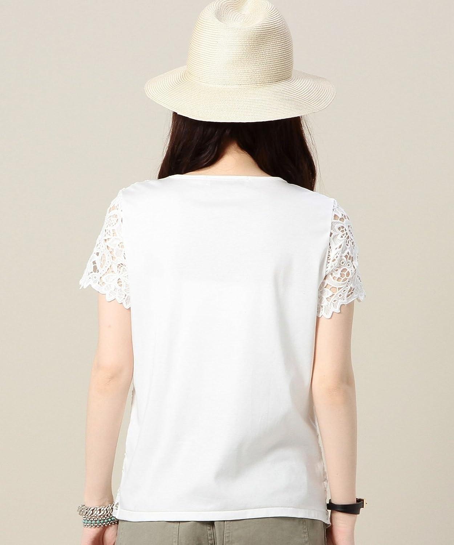 (ビューティーアンドユースユナイテッドアローズ) BEAUTY&YOUTH UNITED ARROWS BY ペイズリーレースショートスリーブ 16172254740 01 White フリー : 服&ファッション小物通販 | Amazon.co.jp