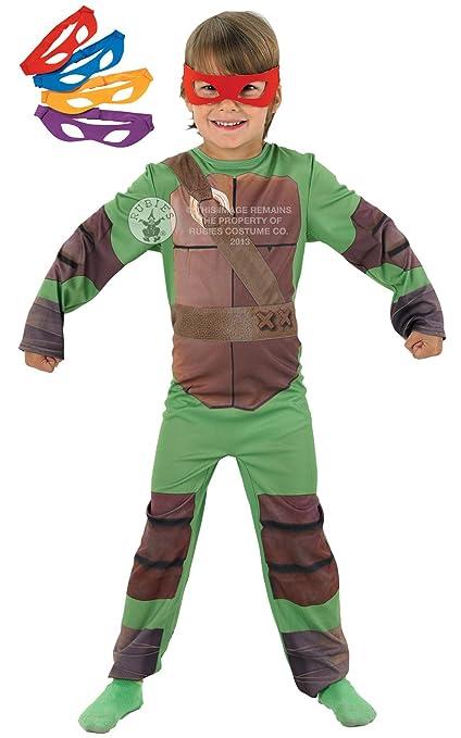 Tortugas ninja disfraz para ni o de 3 4 a os talla s for Aerografo crayola amazon