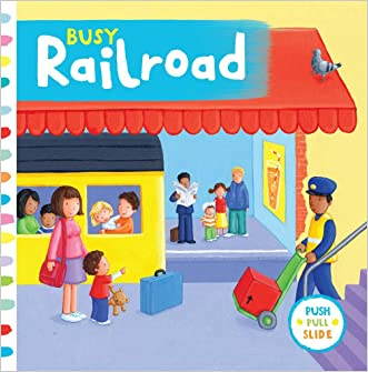Busy Railroad (Busy Books)