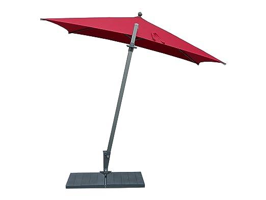Maffei art 137r kronos parasol deport rectangulaire cm for Rehausse beton 50x50 castorama