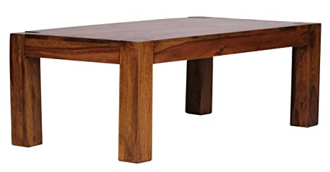 Wohnling WL1.211 Sheesham - Mesa de centro (110 x 60 cm, madera maciza)