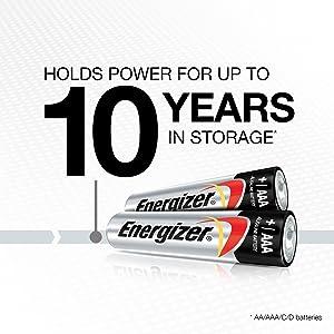 Energizer MAX Alkaline AAA Batteries, 24 Pack (Color: Multicolor, Tamaño: AAA)