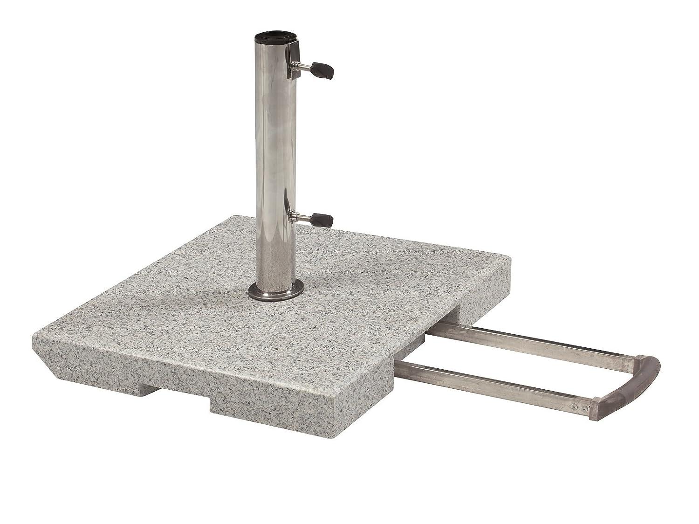 doppler 40 kg granit schirmst nder mit rollen und trolleyfunktion bestellen. Black Bedroom Furniture Sets. Home Design Ideas