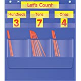 Counting Caddie and Place Value Pocket Chart (Color: Clear)