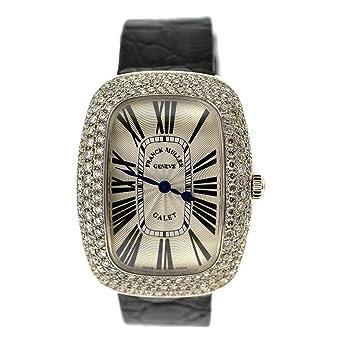 Franck Muller Gallet Ladie's Quartz Watch 3002 L QZ R D Croc Strap
