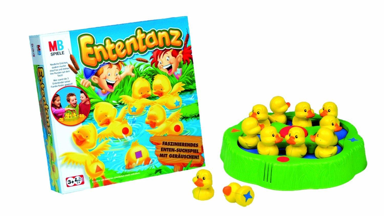 HASBRO MB Spiel Enten-Tanz [Spielzeug] als Weihnachtsgeschenk