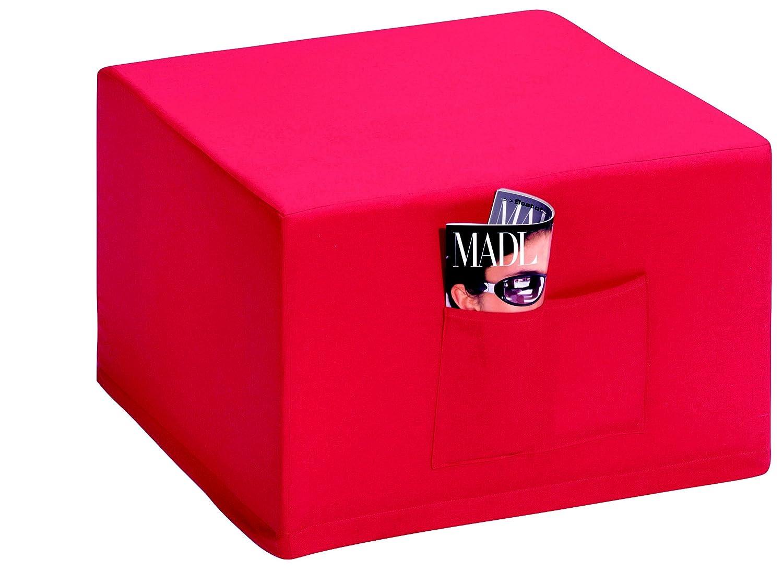 g stebett klappmatratze badenia madrid g stebetthocker mit roter husse 6 teilig dunkelblau. Black Bedroom Furniture Sets. Home Design Ideas