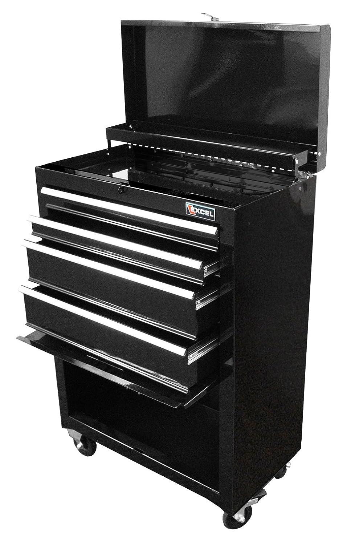 black tool box cabinet steel roller tools chest mechanic garage shop storage ebay