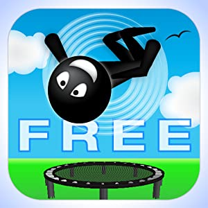 Stickman Trampoline FREE by The App Ward