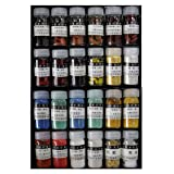 Easyou Jiangsixu Tang Traditional Professional Chinese Painting Color Powder Pigment Made from Natrual Mineral and Plant 5g(0.18oz) x24colors (Color: Jiangsixu Tang 24colors)