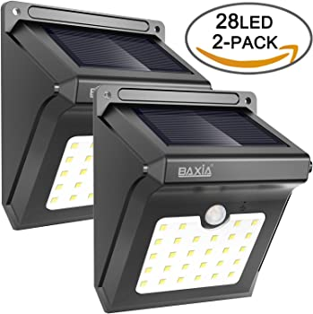 2-Packs Baxia Technology 28 LED Security Wall Lights