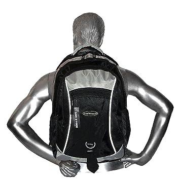 Leder Rucksack Damen Herren Schulrucksack Sport Freizeit Reise Laptop Backpack