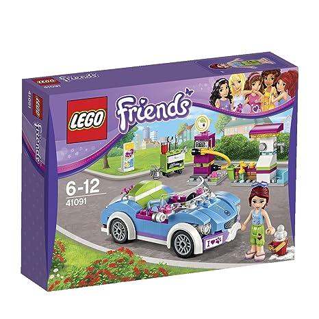 Lego Friends - 41091 - Jeu De Construction - La Décapotable De Mia