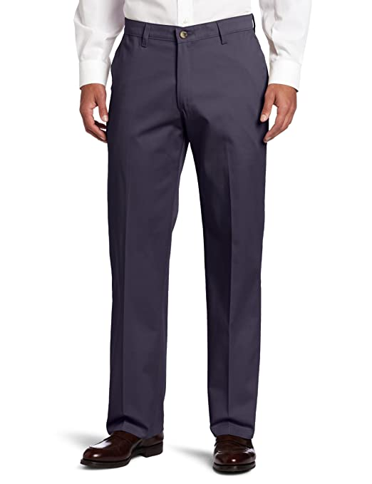 Lee 李牌 Custom Fit 男士纯棉混纺西裤,$23.99