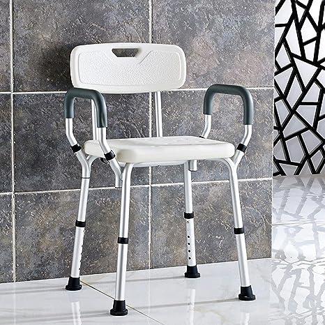 UZI-Donne incinte di bagno bagno doccia sedia degli anziani disabili doccia vasca sgabello sedia con braccioli dello schienale sedia
