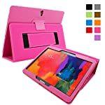 Snugg Galaxy Tab PRO 10.1 Case Smart Cover with Flip Stand & Lifetime Guarantee for Samsung Galaxy Tab PRO 10.1