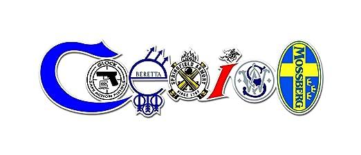 Coexist Gun Logos Coexist Gun Decal Bumper