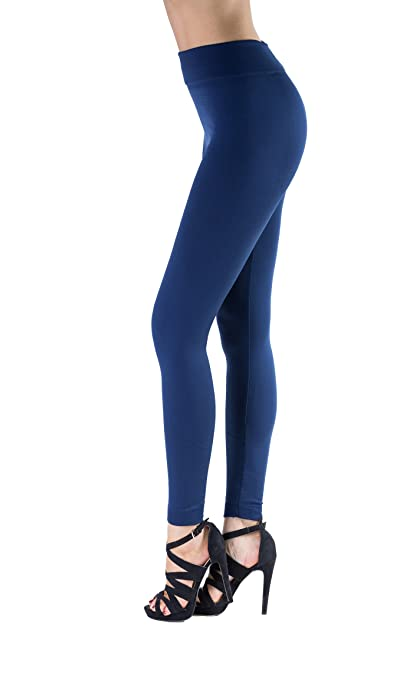 MHOC Navy Fleece Lined Leggings