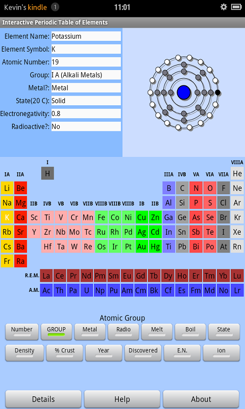 Interactive periodic table of elements - Interactive periodic table game ...