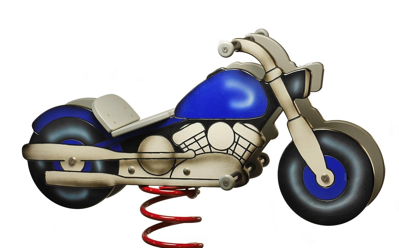 Federwippe Federtier Motorrad HARLI auch für öffentliche Spielplätze und Einrichtungen günstig online kaufen
