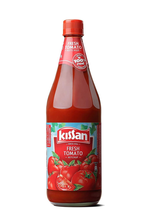 Kissan Fresh Tomato Ketchup Bottle, 1kg By Amazon @ Rs.145