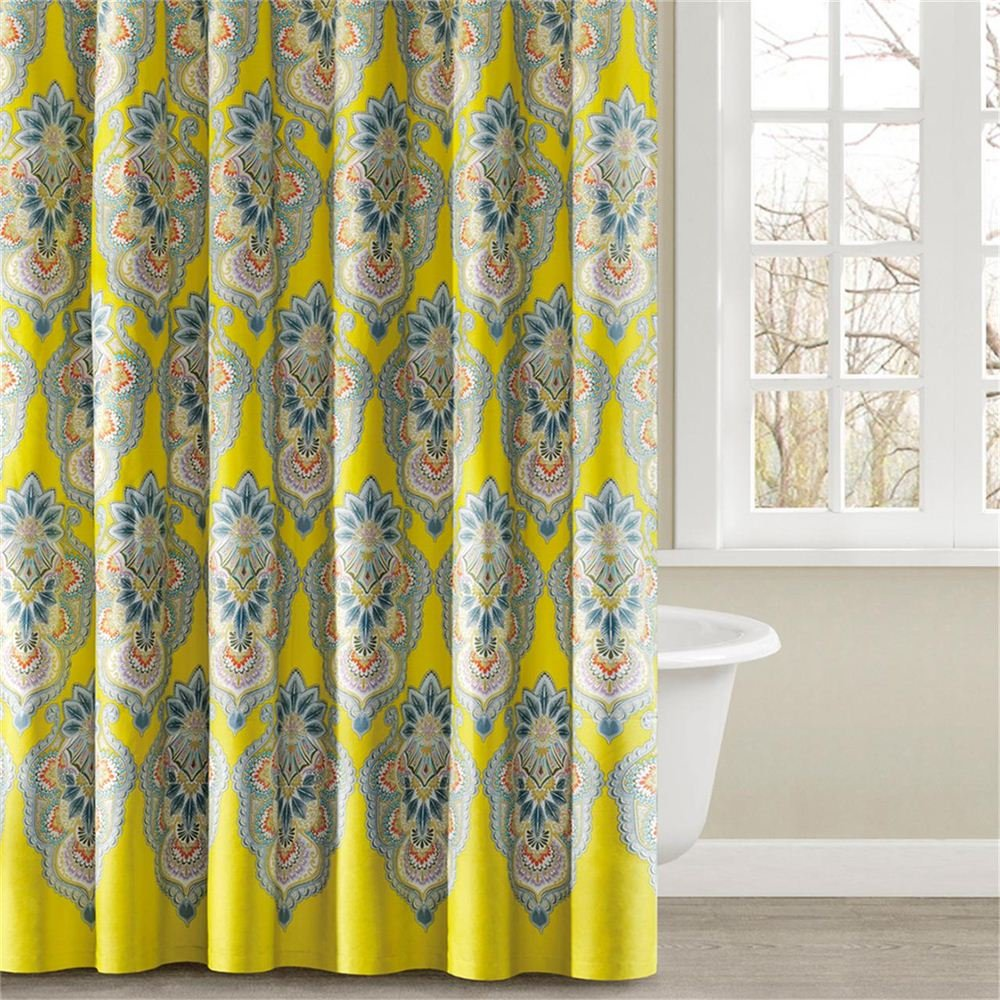 Echo Rio Shower Curtain - Yellow - 72x72