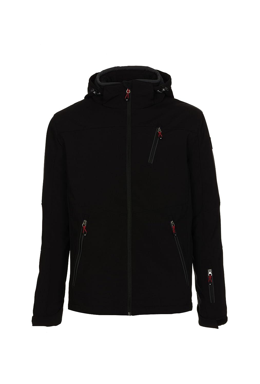 killtec - Herren Softshell Jacke in Schwarz oder Rot, Winddicht- Wasserdicht - Atmungsaktiv, H/W 2015, Cingaro (27100)