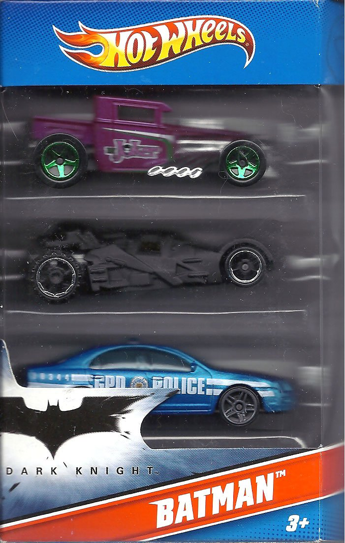 Hot Wheels Batman 3 Pack Cars (Includes Bone Shaker Special The Joker Edition, the Dark Knight Batmobile, and Ford Fusion) a farewell to arms the special edition