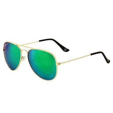 mirrored aviator sunglasses for men  Royal Son UV Protected Aviator Sunglasses For Men And Women ...