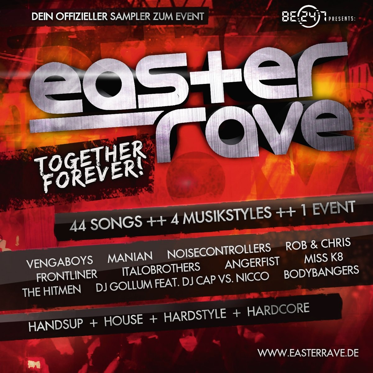 Various Artists-Easter Rave 2016 - Together Forever