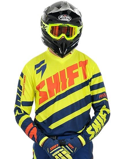Shift 2015 Motocross Jersey - Assault Race - marine jaune