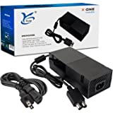 Xbox One Power Supply, AC Power Adapter for Xbox One with Cable, Replacement Xbox One Power Brick[QUIET VERSION]