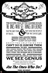 Fool's Desire Fool's Desire 'Crazy Ones Think Different' Poster Art Print