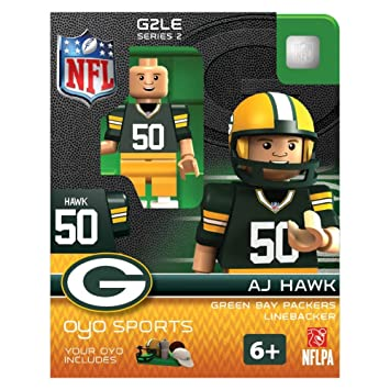 AJ Hawk NFL Green Bay Packers Oyo G2S2 Minifigure