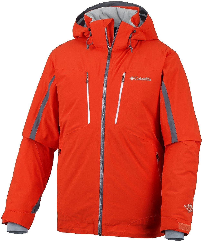 Columbia M Millenium Blur Jacket – State Orange – M – Wasserdichte atmungsaktive Herren Winterjacke bestellen