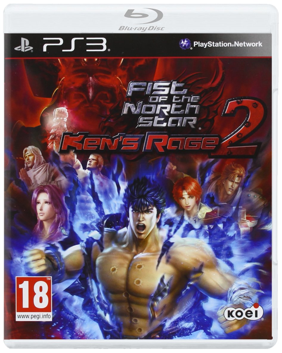 NEW & SEALED! Fist Of The North Star Kens Rage 2 Sony