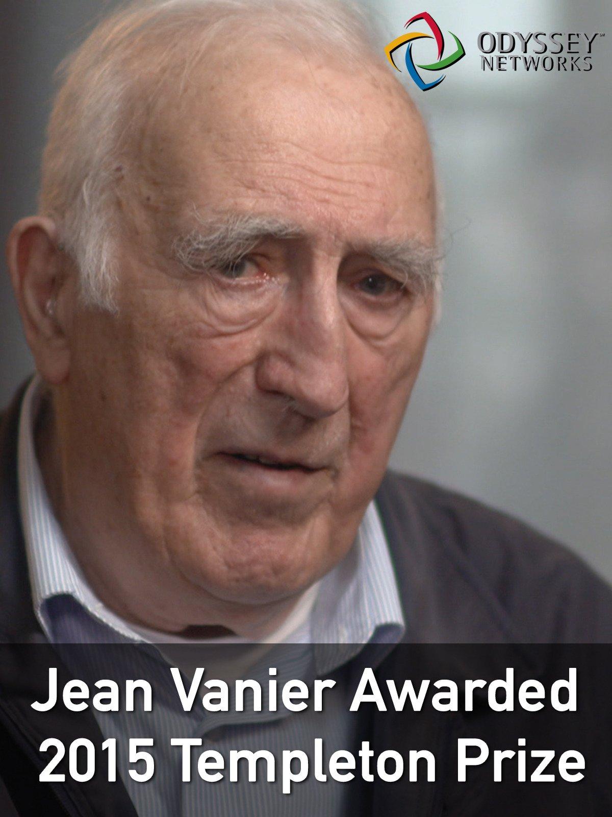 Clip: Jean Vanier Awarded 2015 Templeton Prize