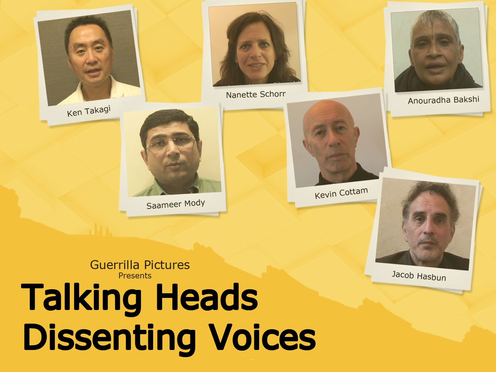 Talking Heads, Dissenting Voices - Season 1