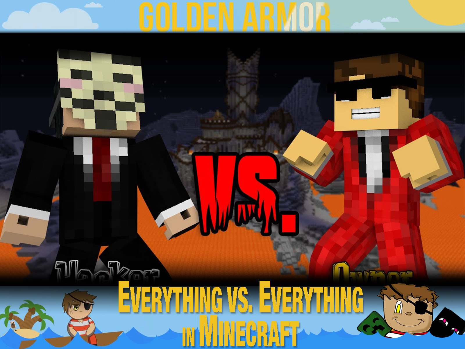 Clip: Golden Armor - Everything vs. Everything in Minecraft - Season 1