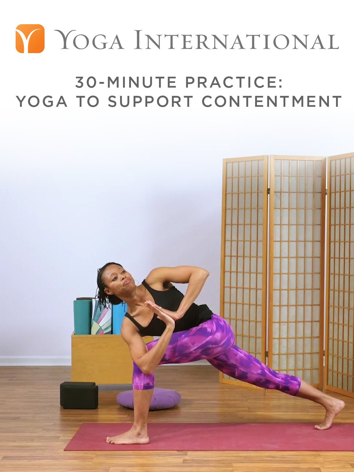 30-Minute Practice: Yoga to Support Contentment