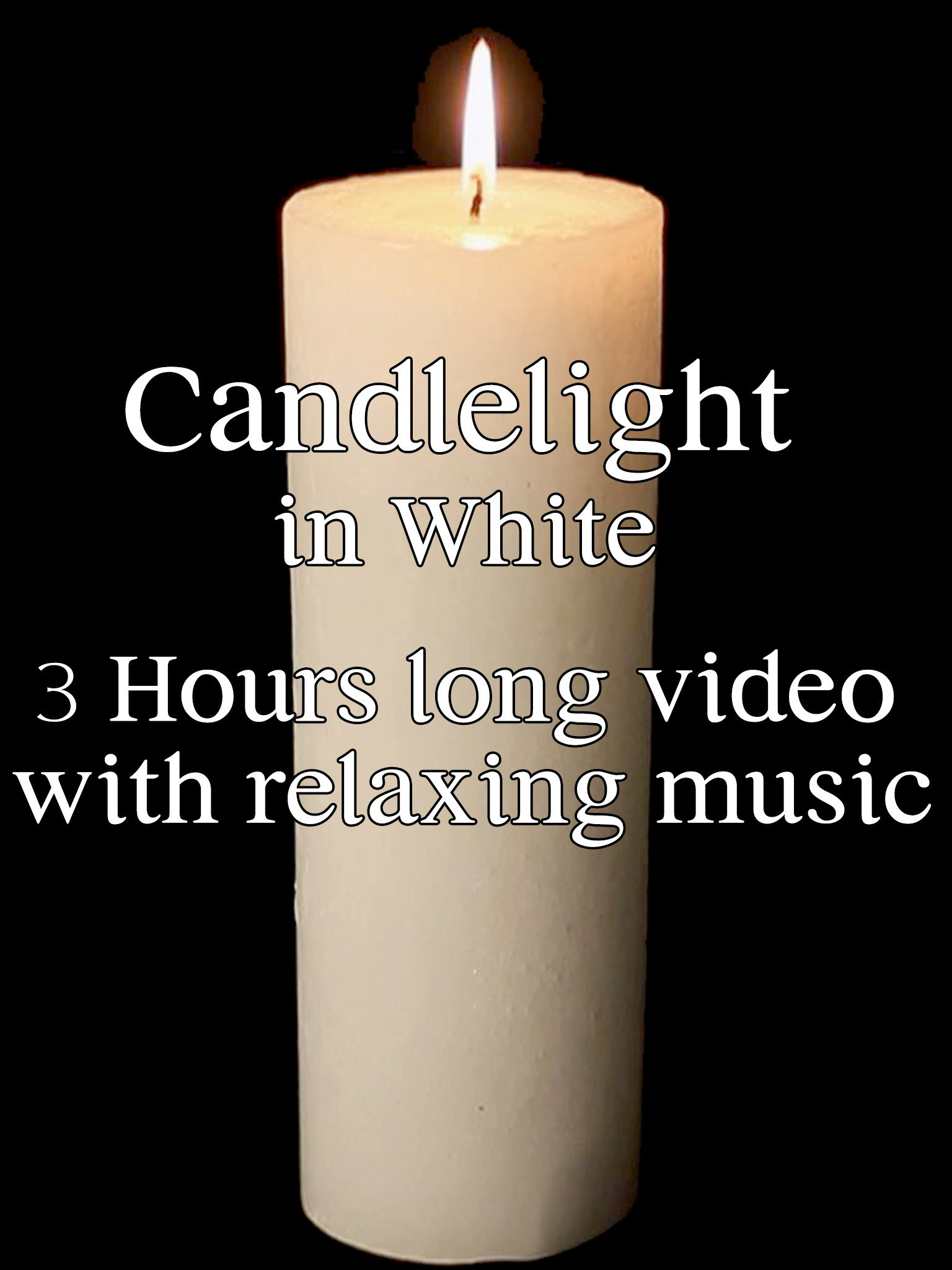 Candlelight in White