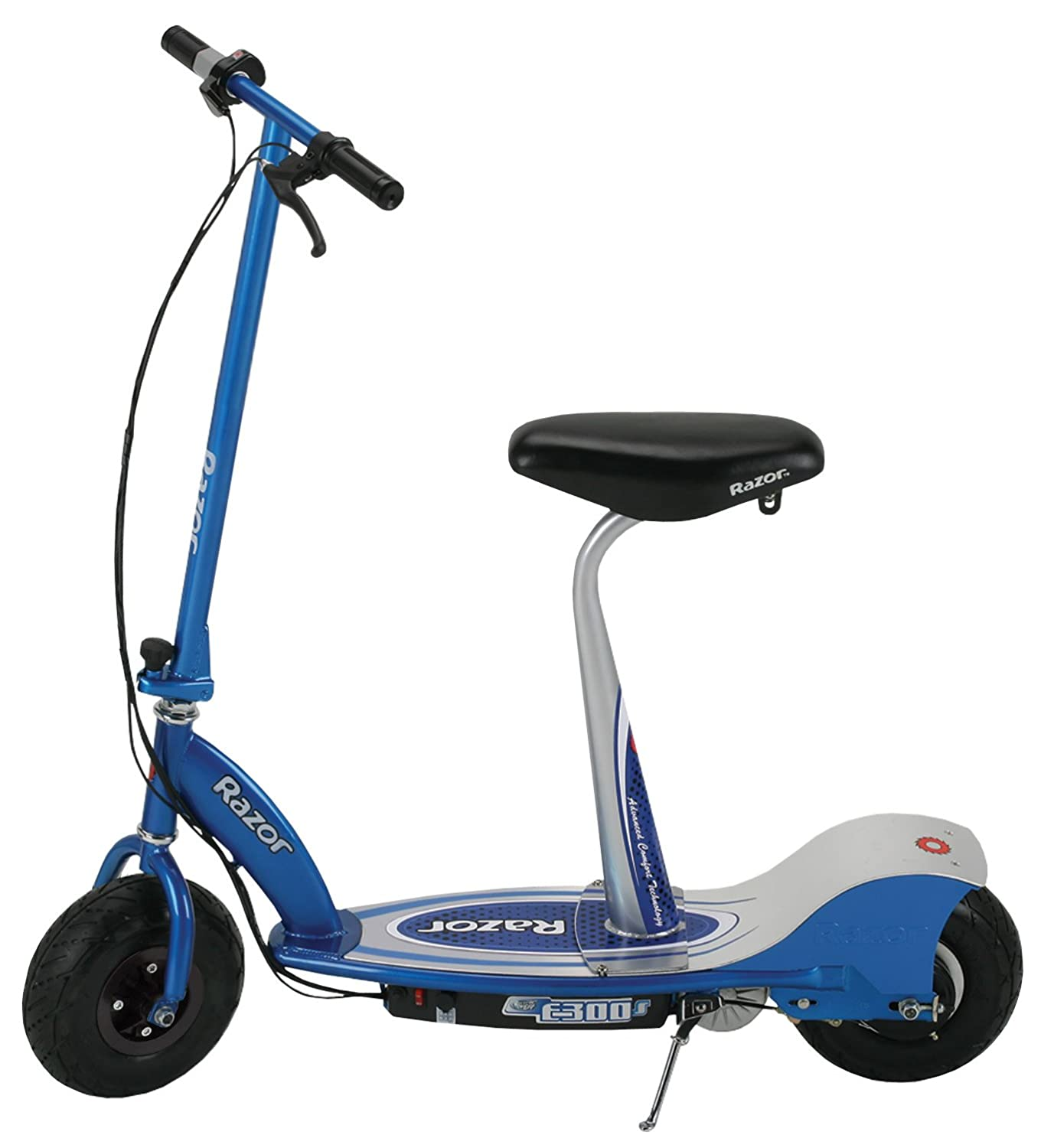 Razor e300s seated electric scooter for Motorized scooter for kids