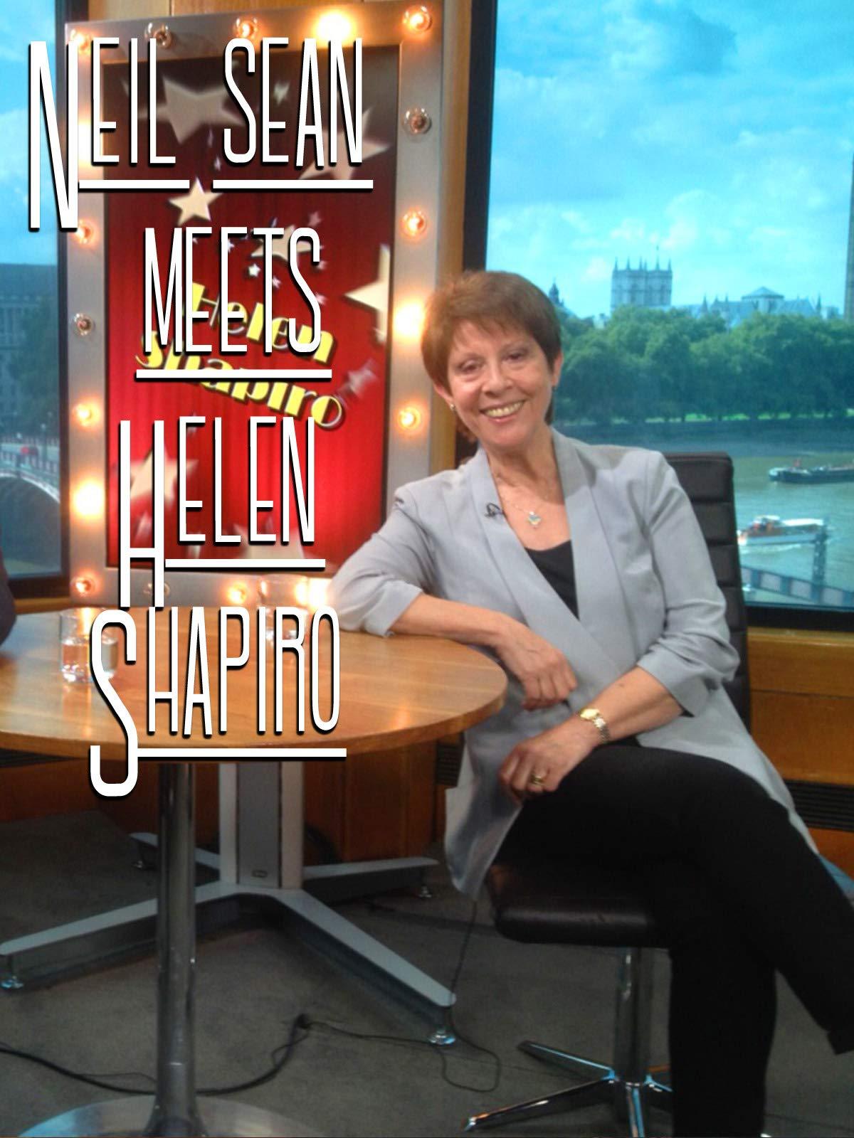 Neil Sean meets Helen Shapiro