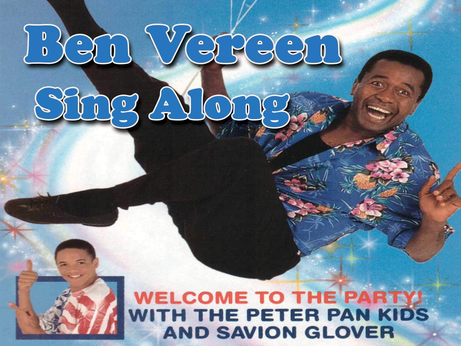 Ben Vereen Sing-Along with Savion Glover on Amazon Prime Video UK